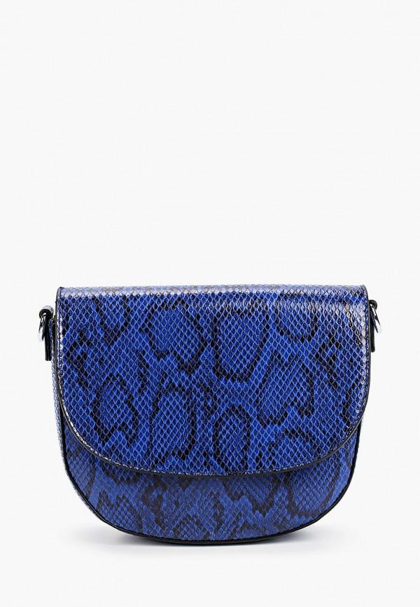 женская сумка через плечо vitacci, синяя