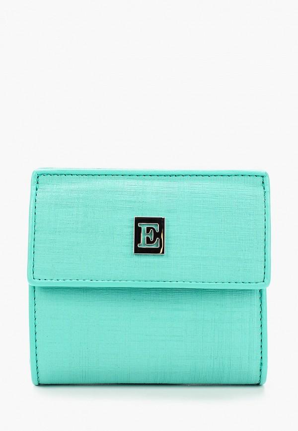 женский кошелёк eleganzza, бирюзовый