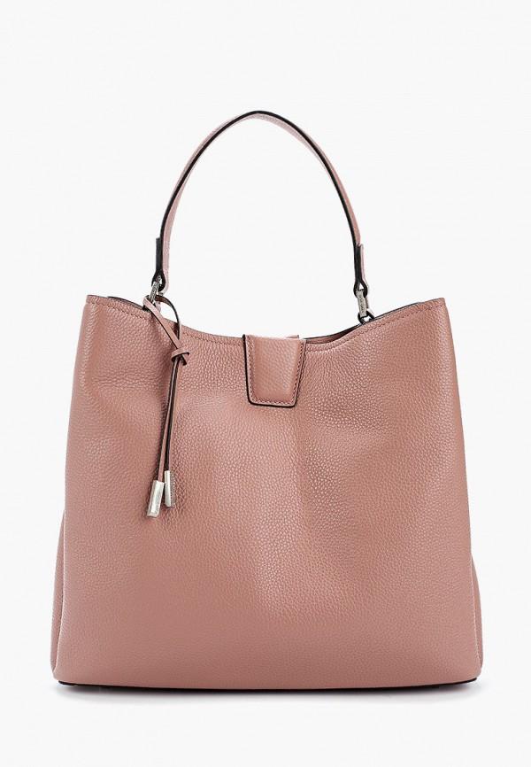 женская сумка с ручками eleganzza, розовая