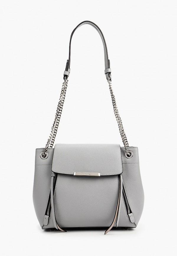 Фото - Женскую сумку Eleganzza серого цвета