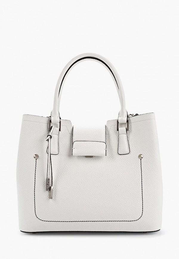 женская сумка через плечо eleganzza, белая