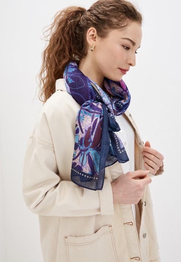 Фото 3 - Женский палантин Eleganzza фиолетового цвета