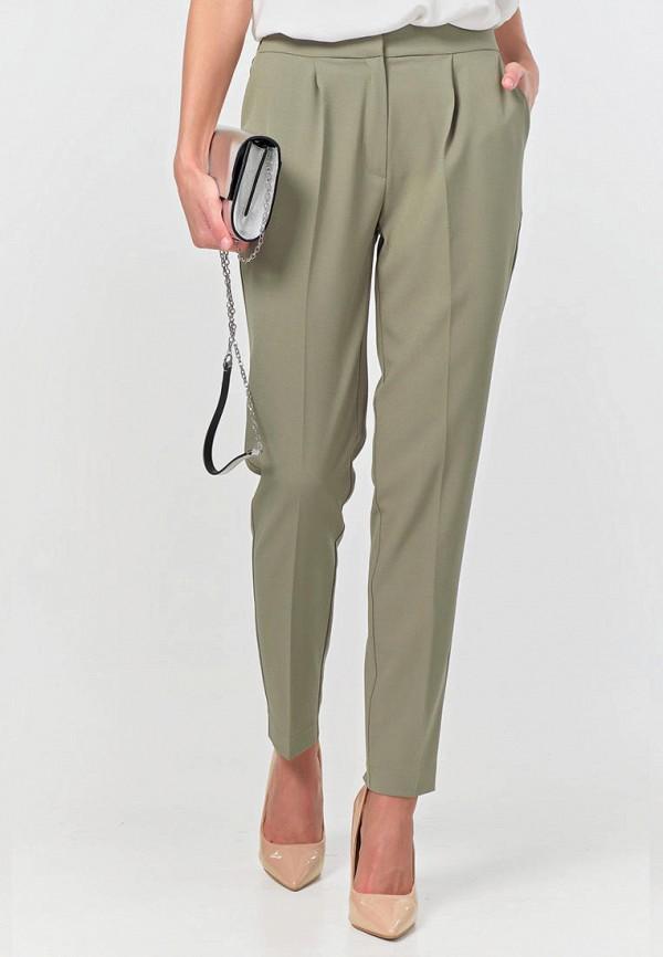 женские повседневные брюки fly, зеленые