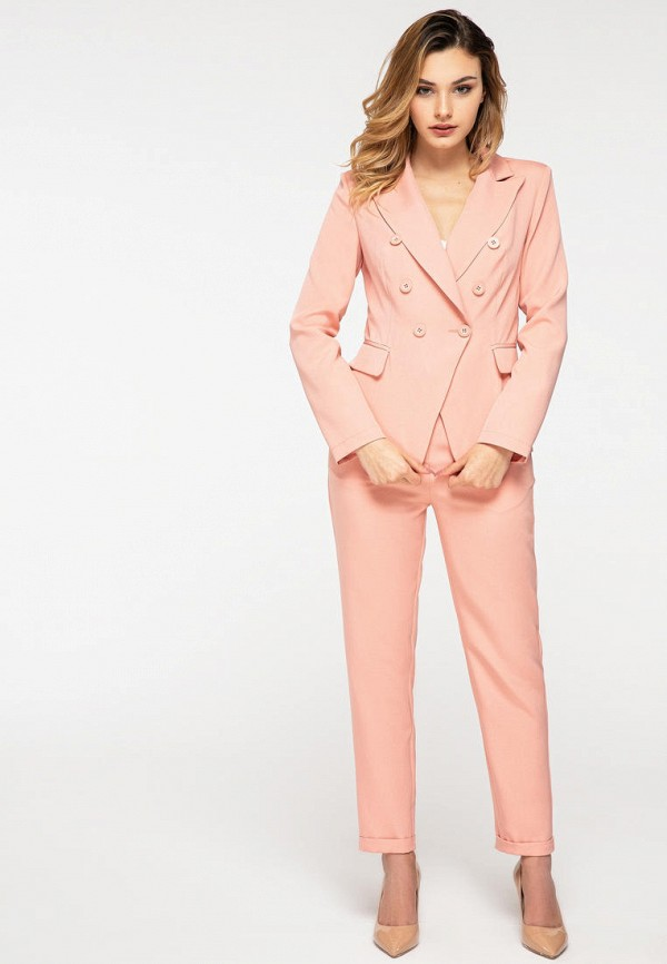 женский костюм itelle, розовый