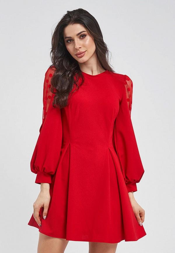 женское вечерние платье magnet, красное