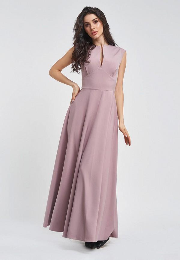 женское вечерние платье magnet, розовое