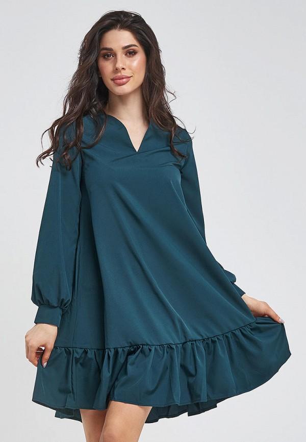 женское повседневные платье magnet, зеленое