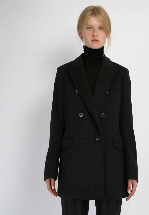 женское пальто kano, черное