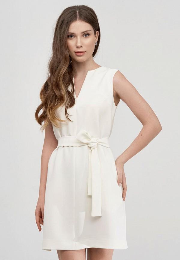 женское повседневные платье natali bolgar, белое