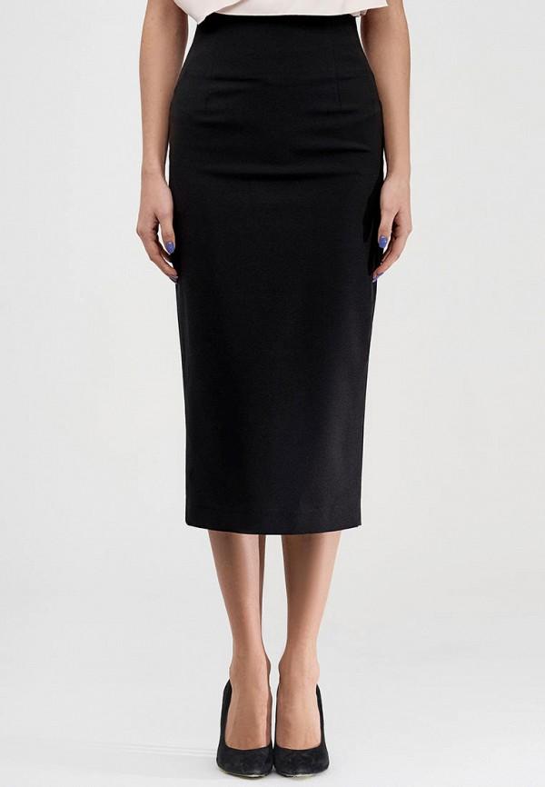 женская зауженные юбка natali bolgar, черная