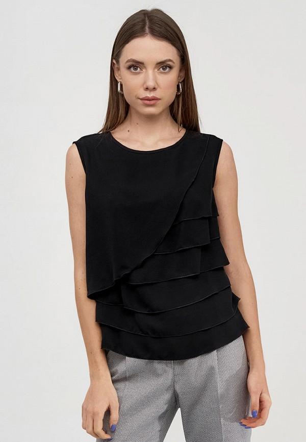 женская блузка natali bolgar, черная