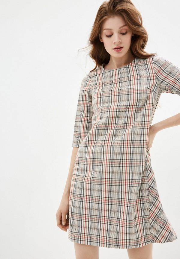 женское повседневные платье viserdi, бежевое