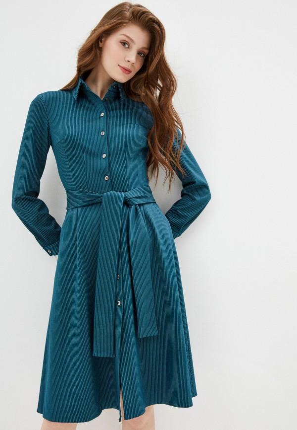 женское повседневные платье viserdi, зеленое