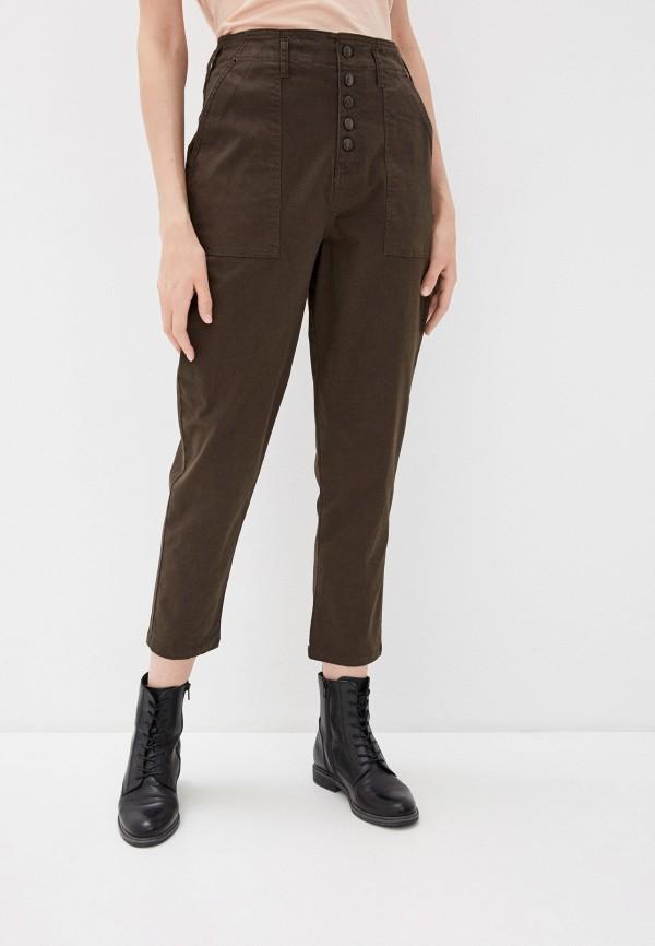 Фото - Женские брюки Befree цвета хаки