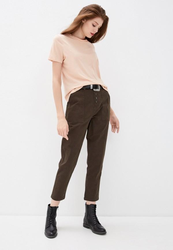 Фото 2 - Женские брюки Befree цвета хаки