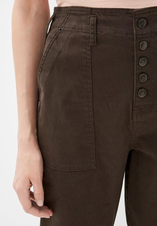 Фото 4 - Женские брюки Befree цвета хаки