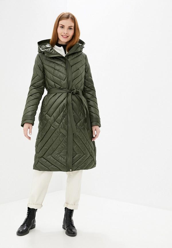 женская утепленные куртка tom farr, хаки