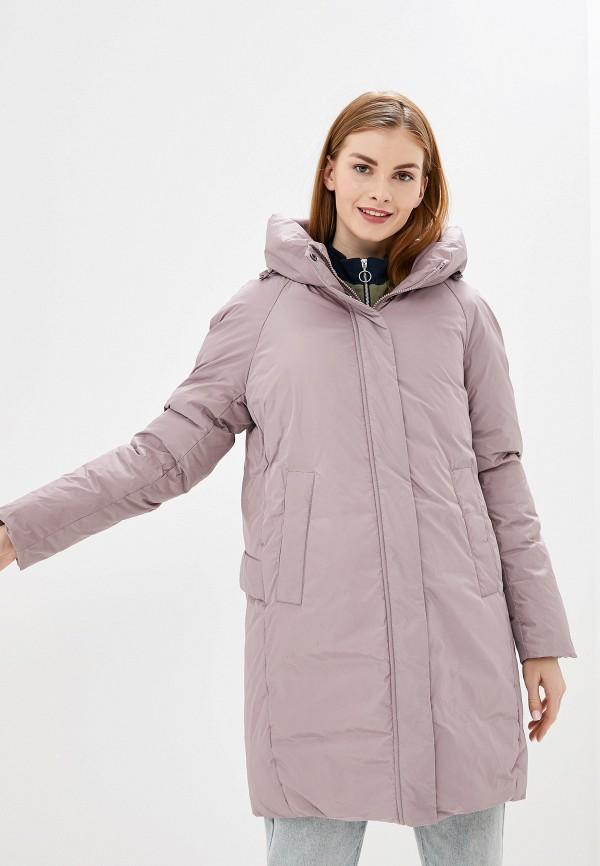 женская утепленные куртка tom farr, розовая