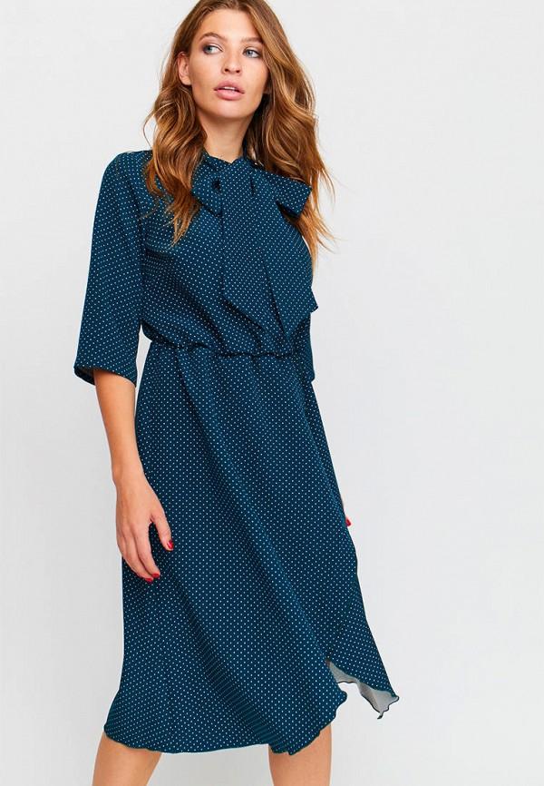женское повседневные платье karree, бирюзовое