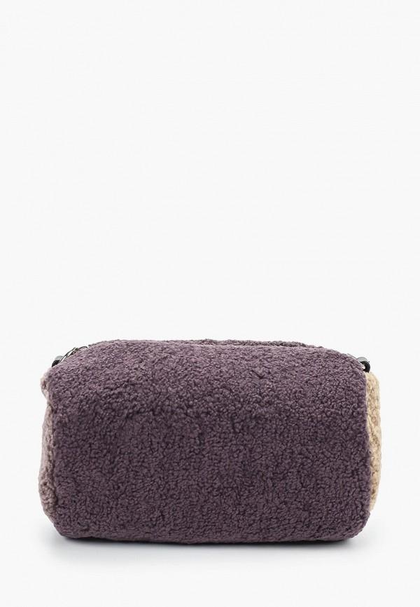 женская сумка через плечо labbra, фиолетовая