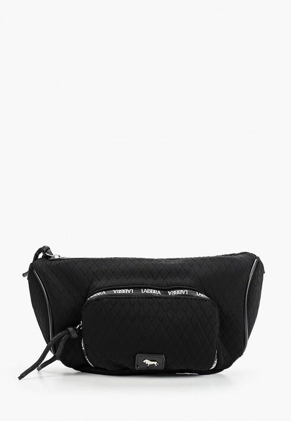 женская поясные сумка labbra, черная