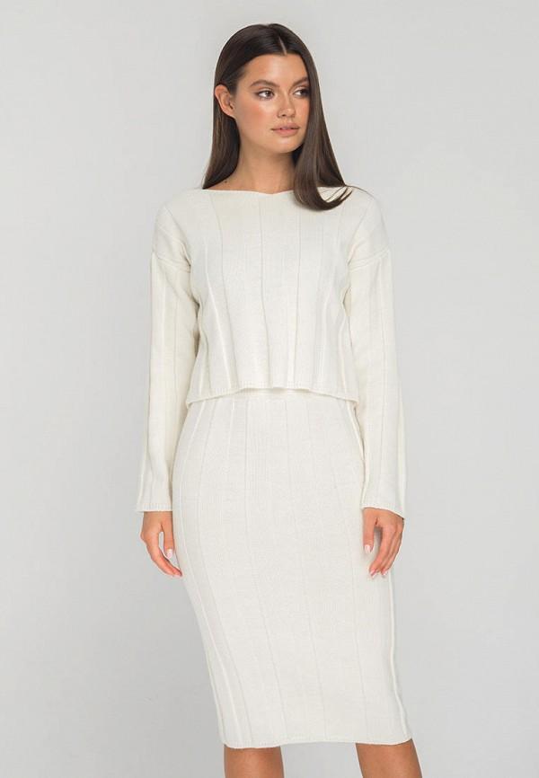 женский костюм fors, белый