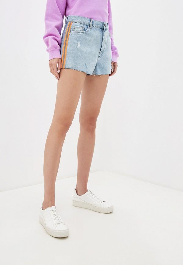 женские шорты lc waikiki, голубые