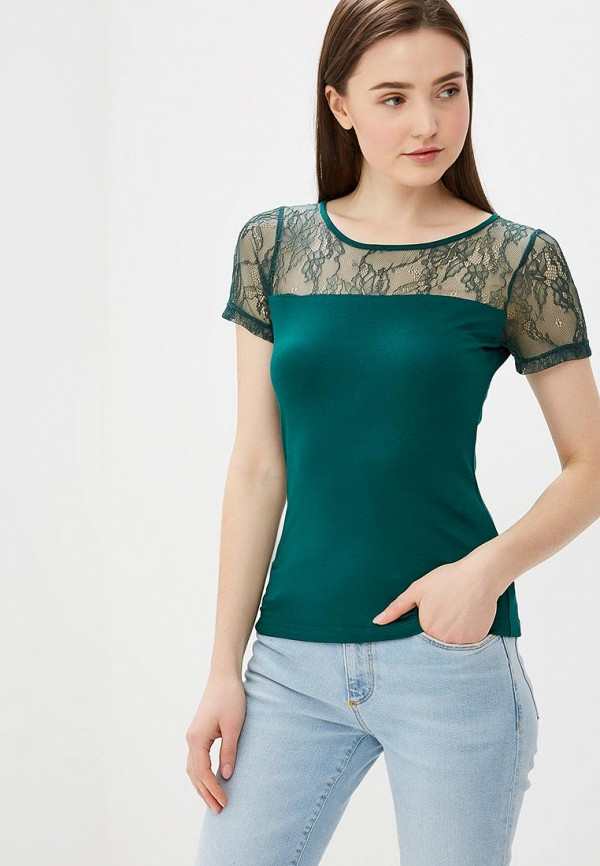 женская футболка vittoria vicci, зеленая