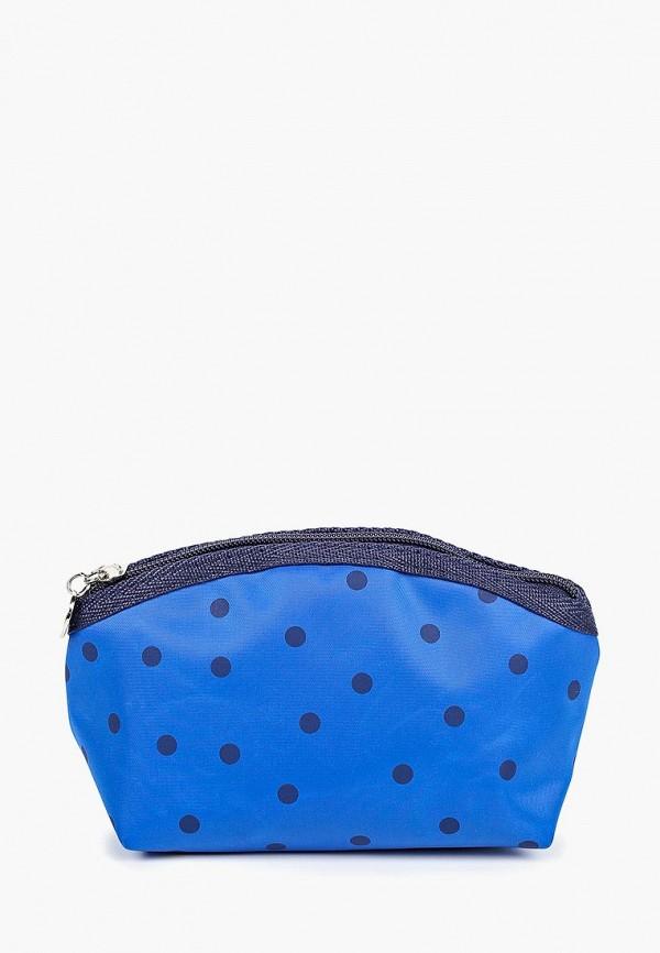 женская косметичка antan, синяя