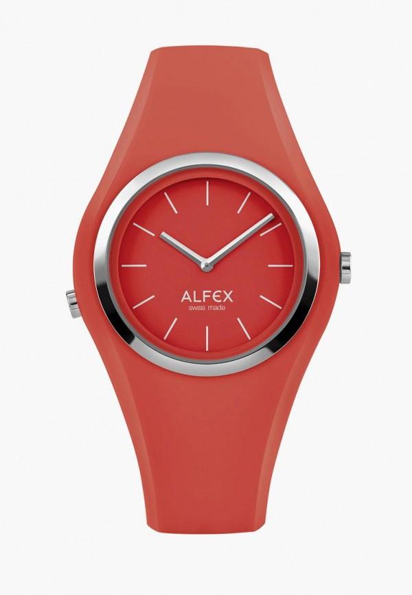 женские часы alfex, красные