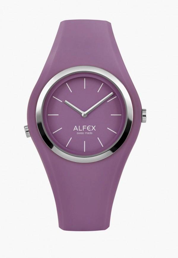 женские часы alfex, фиолетовые