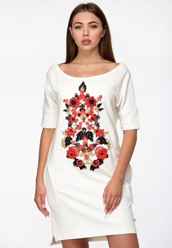 женское повседневные платье o&j, белое