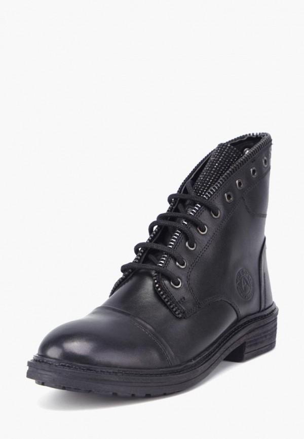 женские ботинки airbox, черные