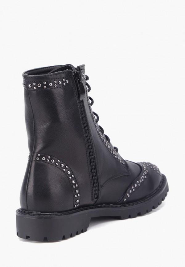 Фото 2 - Женские ботинки и полуботинки Airbox черного цвета