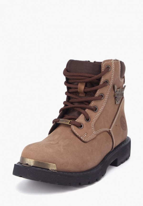 женские ботинки airbox, коричневые