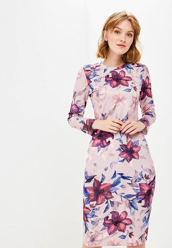 Купить Платье Incity, MP002XW1GK7V, розовый, Осень-зима 2018/2019