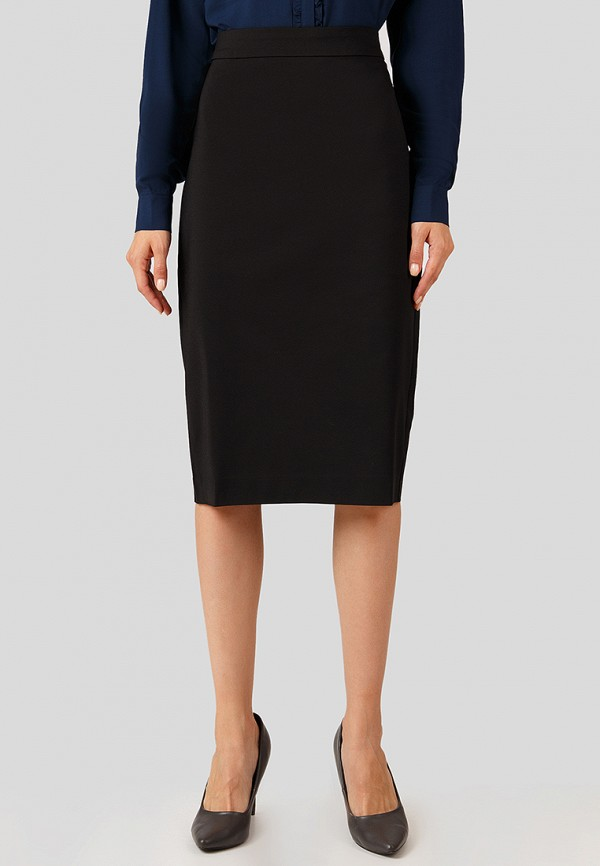 женская прямые юбка finn flare, черная