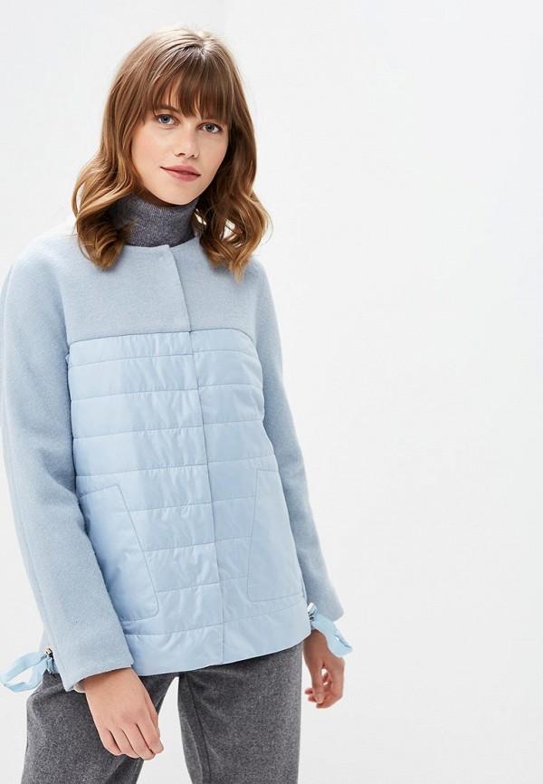 Купить Куртка утепленная la Biali, MP002XW1GKK1, голубой, Осень-зима 2018/2019