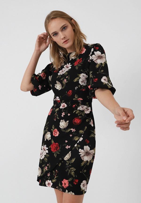 Купить Платье LIME, MP002XW1GKTH, черный, Осень-зима 2018/2019