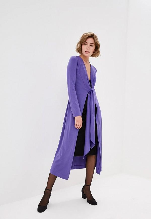 женский кардиган ruxara, фиолетовый