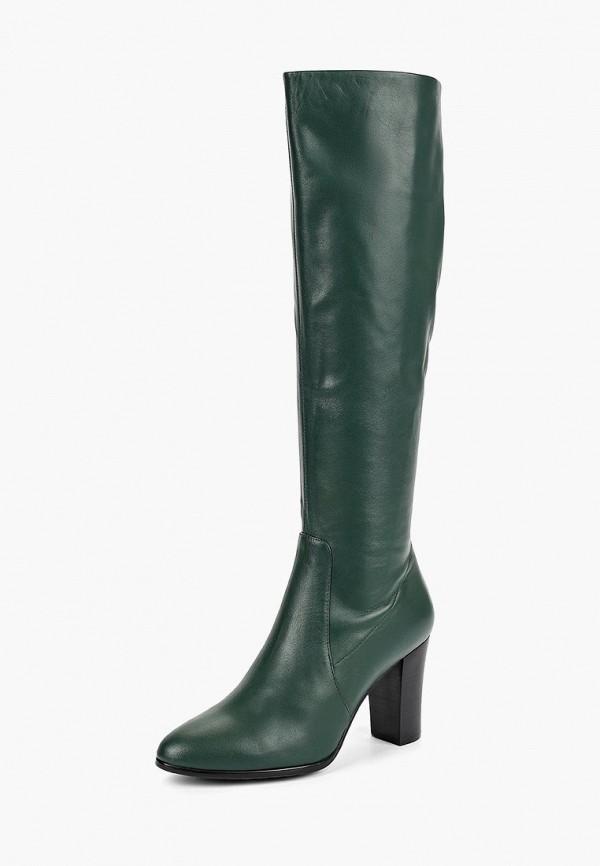 женские сапоги berkonty, зеленые