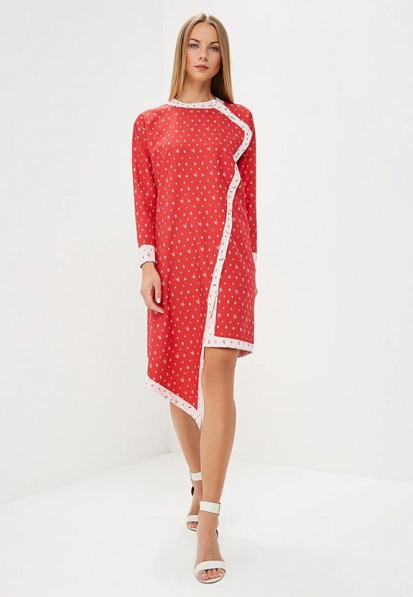 женское повседневные платье sahera rahmani, красное