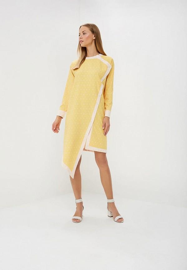 женское повседневные платье sahera rahmani, желтое