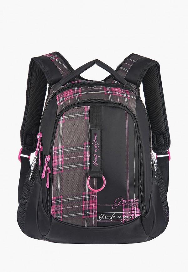 женский рюкзак grizzly, черный
