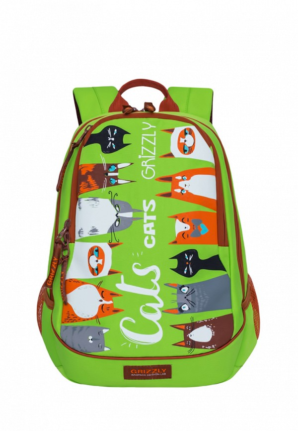 Рюкзак Grizzly цвет зеленый