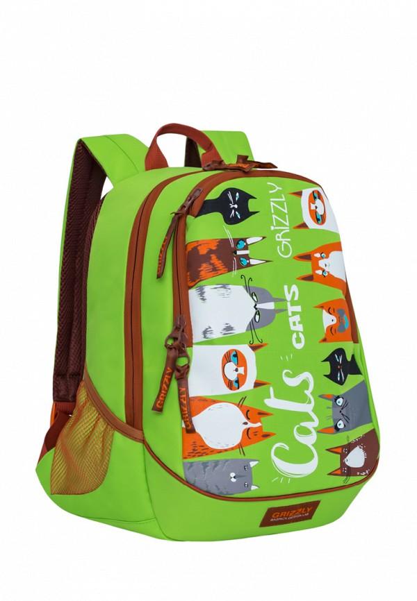 Рюкзак Grizzly цвет зеленый  Фото 2