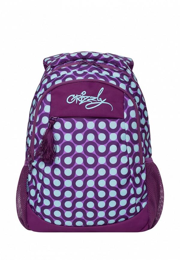 Рюкзак Grizzly цвет фиолетовый