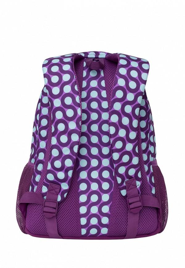 Рюкзак Grizzly цвет фиолетовый  Фото 3