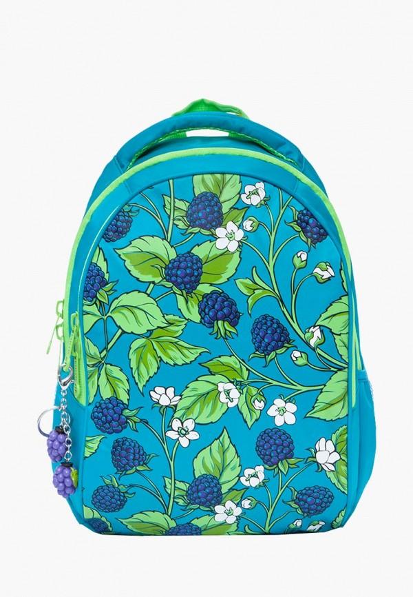 женский рюкзак grizzly, голубой
