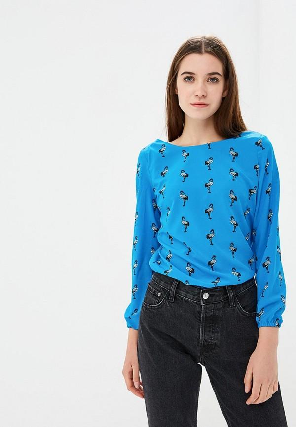 Купить Блуза Glam Goddess, MP002XW1GLH9, синий, Осень-зима 2018/2019